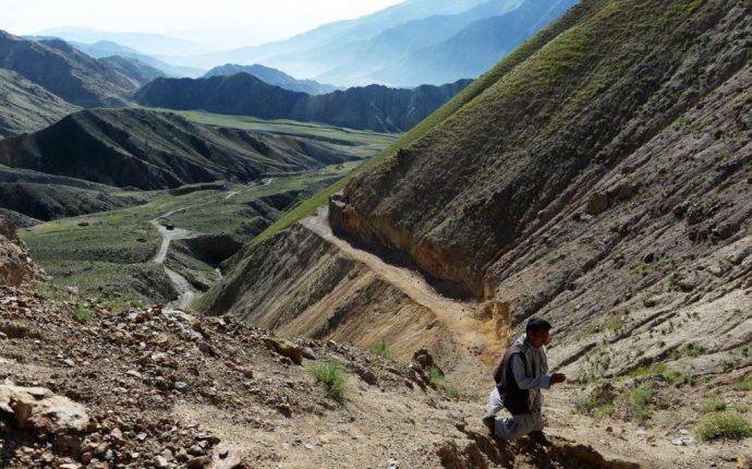 Добыча золота в горах Гиндукуша
