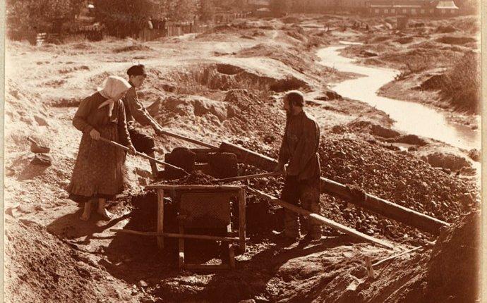 Добыча золота в России: история золотодобычи от древности до наших