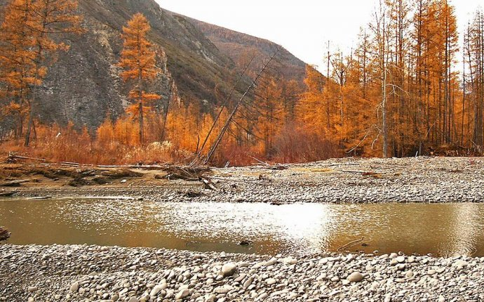Добыча золота в Якутии