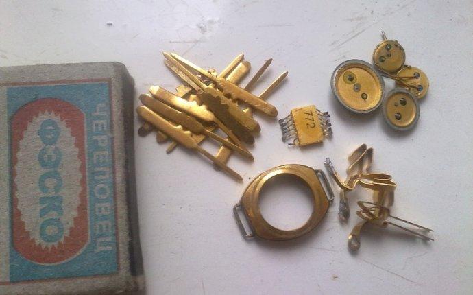 Извлечение золота из радиодеталей | all-he