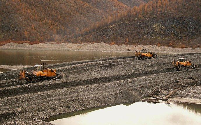 Золотодобывающая артель в Якутии | Наука и техника